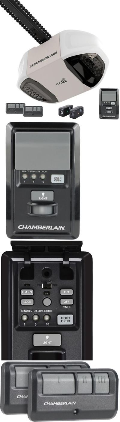 Opener Systems 85898: Chamberlain Garage Door Opener Chain Drive 3 4 Hp Home Link Visor Remote -> BUY IT NOW ONLY: $199.99 on eBay!