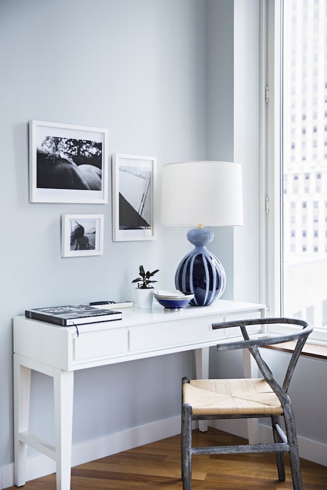 enchanting home office wall colors blue | 17 Best images about Home Offices on Pinterest | Paint ...