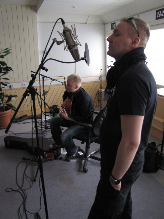Marko and Olli at an interview for Sisuradio 2010.