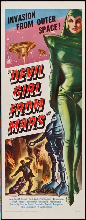 """""""Devil Girl From Mars"""". (1954)"""