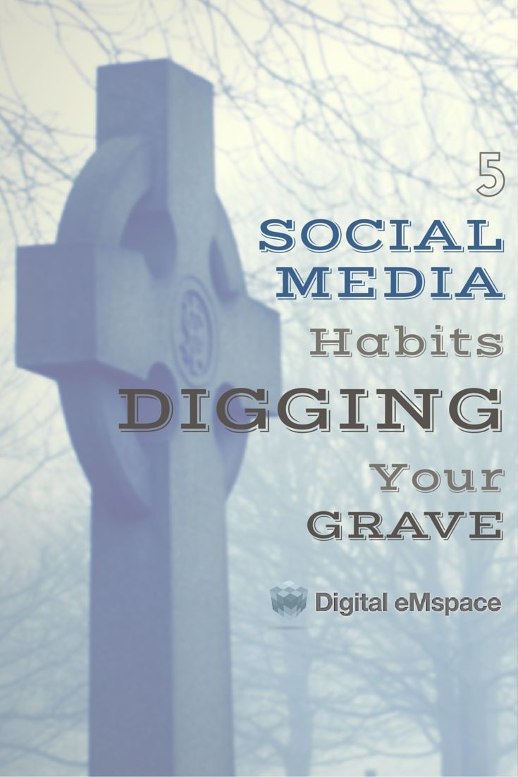 Shortcuts save you time and effort. However, when developed into a habitual routine, they do more harm than good, especially in social media. Read our list of the 5 habits digging your social media grave.  by @kelseyannvere