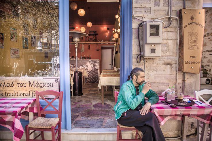 Man Drinking by Eleni Mac Synodinos on 500px