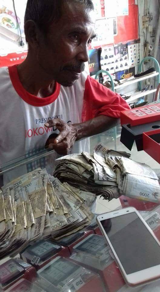 cerita berita dan kliping informasi: Uang susah di cari ketemu uang jangan lari
