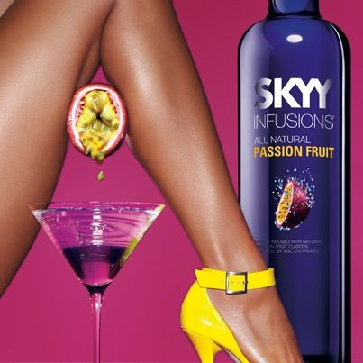 Skyy Vodka Passion Fruit