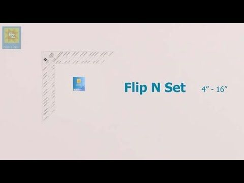 How to use the EZ Quilting Flip n Set tool with Jennie Rayment