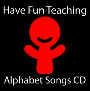 This 2-Disc CD set by Have Fun Teaching includes the Alphabet Songs A-M CD and the Alphabet Songs N-Z CD. This is a brand new way for teaching and learning phonics, letter sounds and the alphabet. Each alphabet song teaches letter sounds, consonants, vowels, vocabulary words using each letter, and uppercase and lowercase alphabet letter handwriting skills. (This is a 2-Disc CD Set)