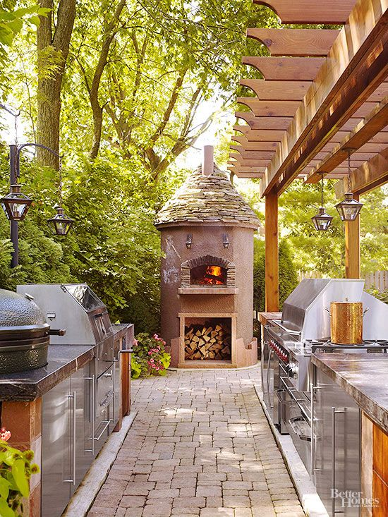 outdoor kitchens you have to see to believe outdoor pizza