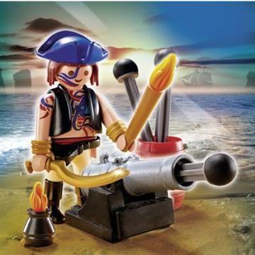 Playmobil Special Plus Πειρατής Με Κανόνι (5413) 3,99