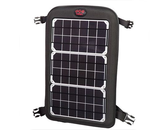 Detachable portable solar powered charger for my rare earth gadgets.