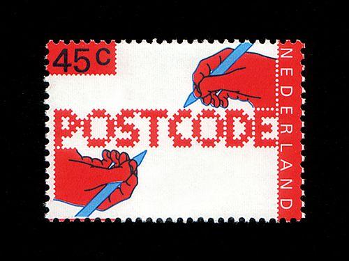'Postcode' by Gert Dumbar, 1978