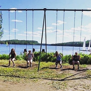 Have a swinging safe and silly weekend @camptamakwa ! Looking forward to seeing all of your creative #halloween costumes!! Wearing a campy costume? With your #camp friends? Be sure to tag us so we can share the spooky #tamakwaspirit 🎃🕸👻#algonquinpark #summercamp