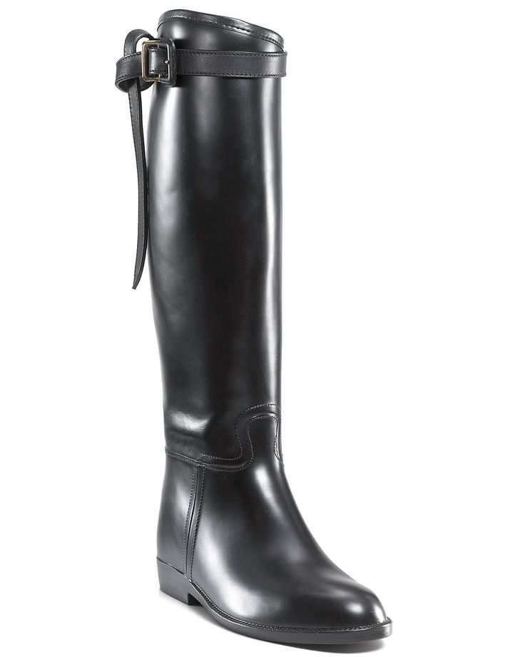 Burberry Rain Boots - Flat Riding | Bloomingdale's