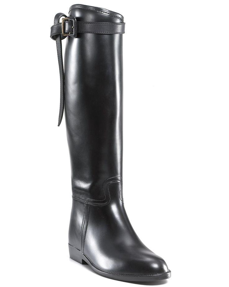 Burberry Rain Boots - Flat Riding | Bloomingdale's
