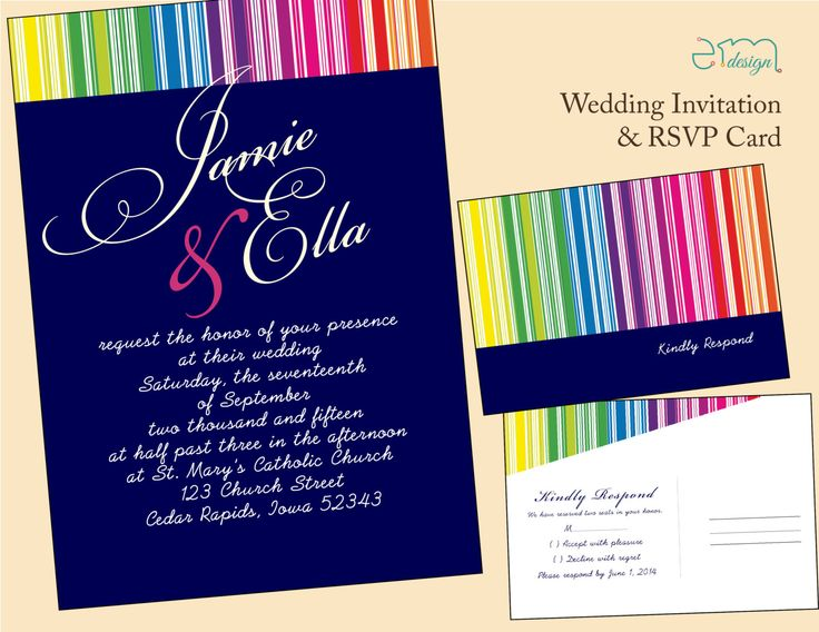 53 best Wedding Invitations images on Pinterest