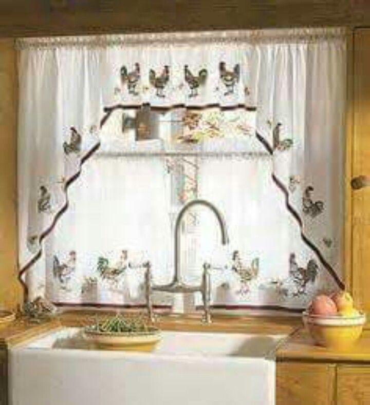 86 Best Kitchen Window Treatments Images On Pinterest