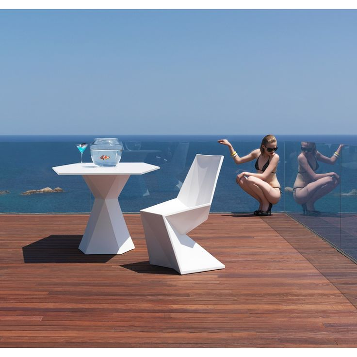 Vertex Chair, Outdoor Lighted Furniture Design At Cassoni.com