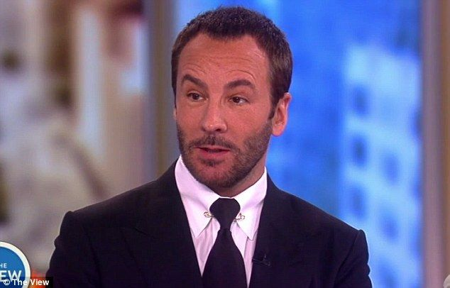 Pass:Tom Ford said in an interview on Wednesday (above) that he was asked to dress Melania Trump in the past but turned down the request