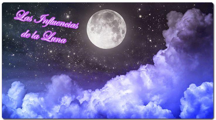 Aprende sobre las influencias de la luna. Descubre de que manera nos afecta y en qué nos afecta la energía lunar.  #energíalunar #luna #influencialunar