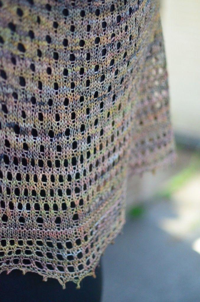 Woollen Wilderness | FO: Pebble Beach shawl | http://woollenwilderness.com