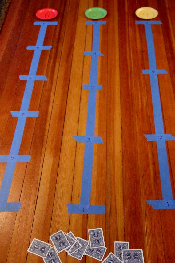 Classroom Theme Ideas High School ~ Walk the number line activity for recognizing numbers