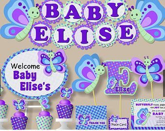 Baby Girl First Birthday Music Party OR Baby by bcpaperdesigns