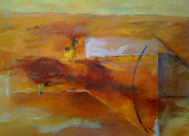 Heat 2 -  oil on canvas 100 x 140 cm - SOLD