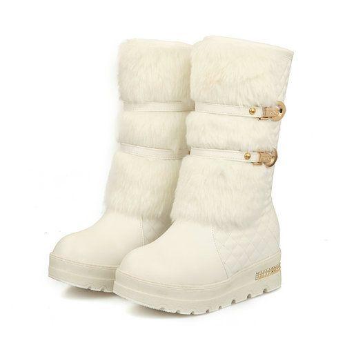 2015 new Down flats Mid-Calf winter boots warm snow boots for women platform boots FOR WOMEN Boots shoes woman
