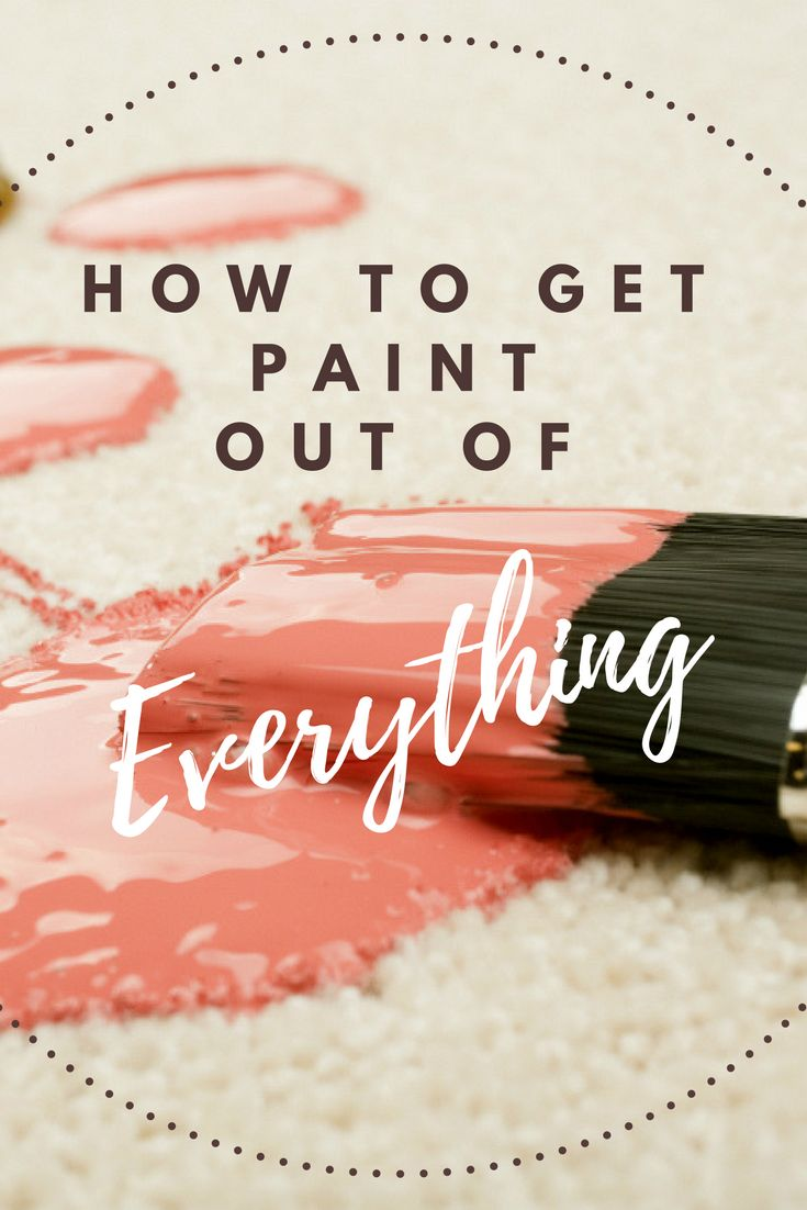During any painting project, it's inevitable that some paint spills and splatters. Even the most careful painters can find their hard work marred by drips on the countertop, linoleum, or carpeting. Fortunately, you can clean up most paint spills with a few handy household cleansers and tools. Here are some tips on how to remove paint from a variety of surfaces.
