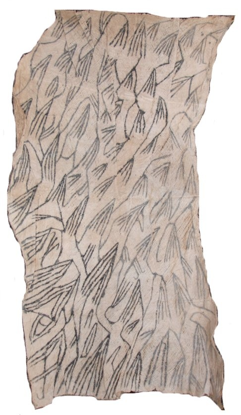 Africa Pygmy Bark Cloth