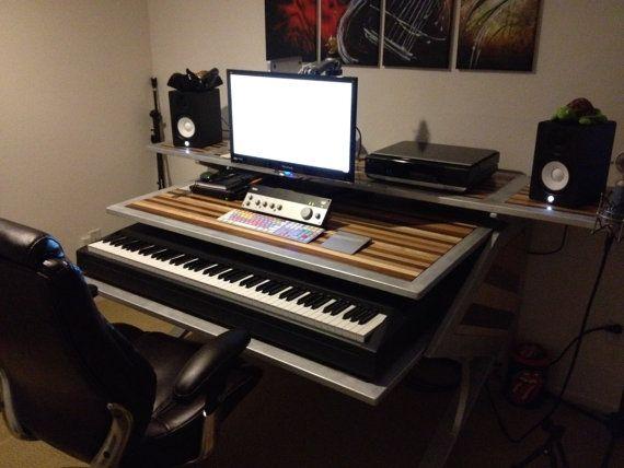 personnalis montage desk studio fait main a v audio vid o mobilier de bureau audio. Black Bedroom Furniture Sets. Home Design Ideas
