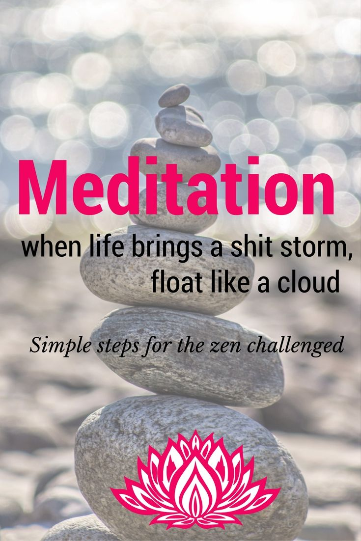 Easy meditation steps for the zen challenged. Here's how my monkey mind learned…