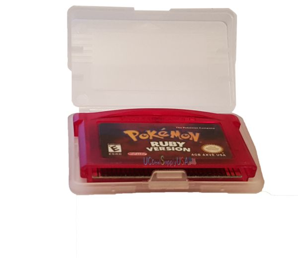 Pokemon Ruby version (Game Boy Advance, GBA) Saves & Loads Game Tested!