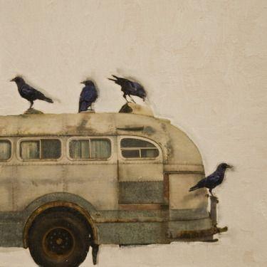 "Artist Brian Barrer; Photography, ""Hitching a ride series"" #art"