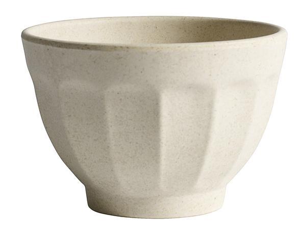Bamboo Bowl, Cream, Large