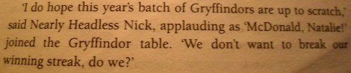 J.K. Rowling a pensé à tout.