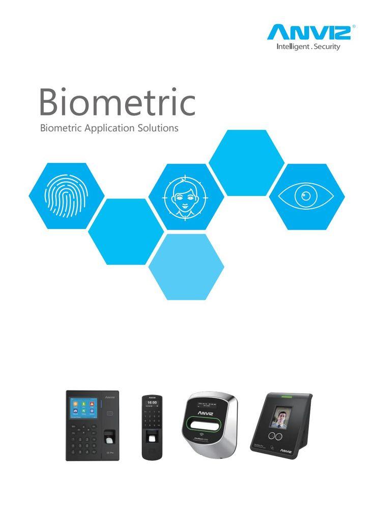 Anviz Biometric Catalogue
