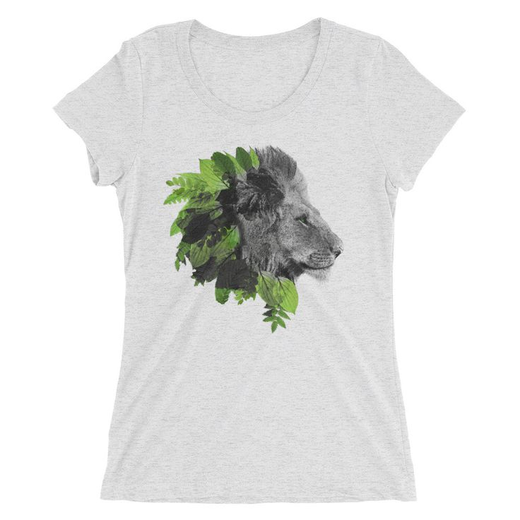 Natural Lion Women's Heather T-Shirt