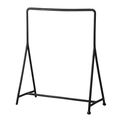 TURBO Clothes rack IKEA Suitable for both indoor and outdoor use. Easy to assemble – just click in and out. Easy to  move – casters included.