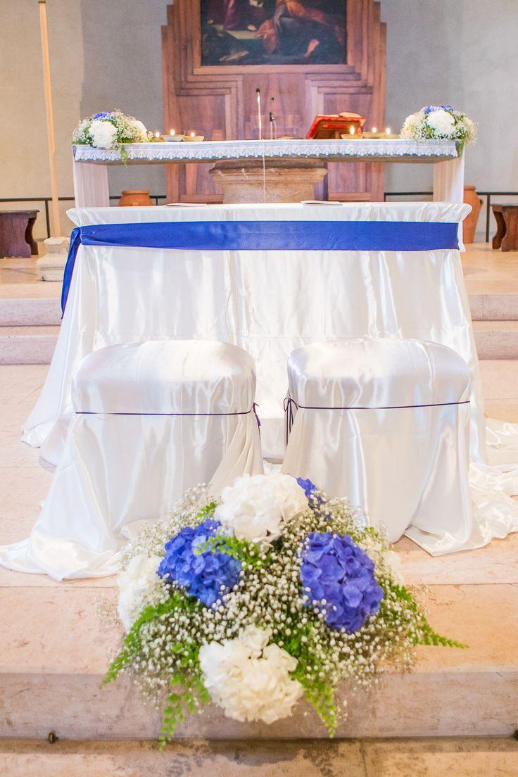 Allestimento Chiesa Ortensie : Migliori idee su fiori di matrimonio blu pinterest