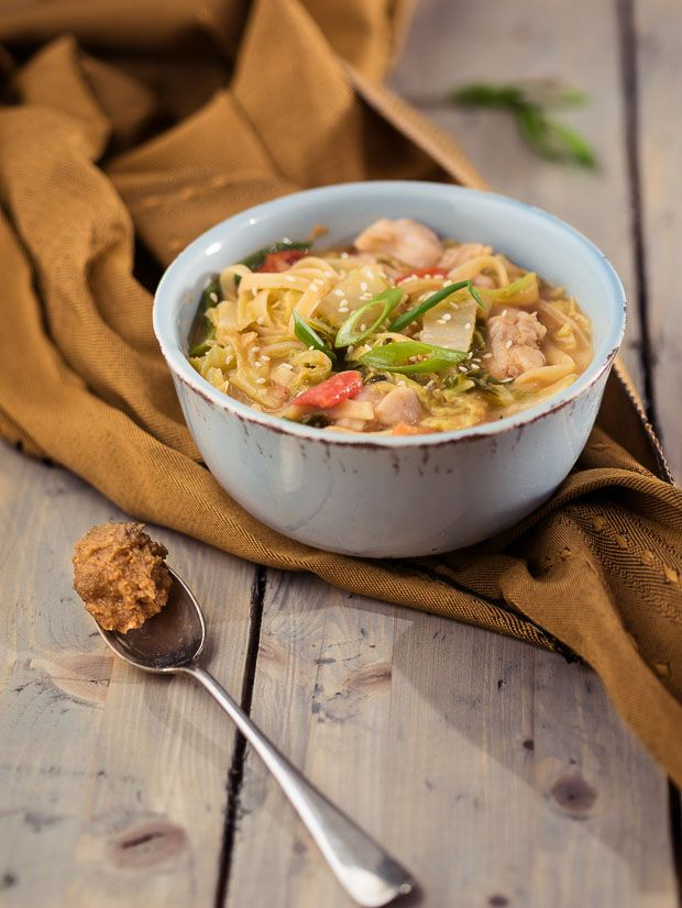Eenvoudig wokgerecht met pindakaas - The answer is food