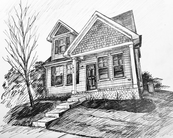 House Sketch - HendriArt