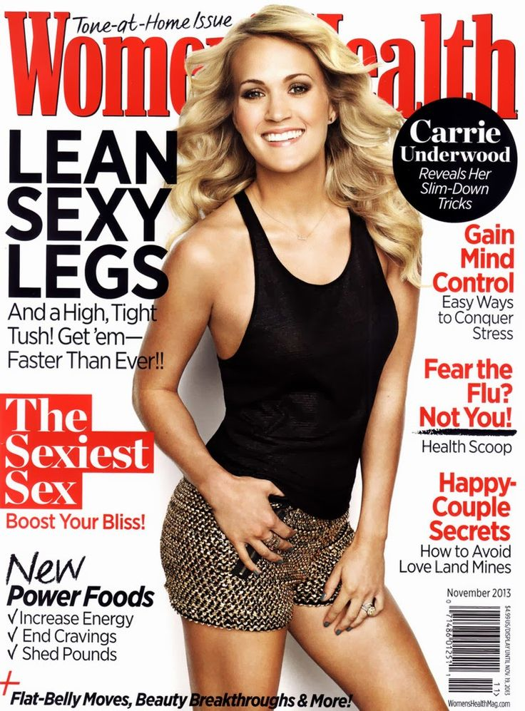 Carrie Underwood spotted wearing E's Closet sequin shorts on the Magazine of Women's Health! xoxo - E