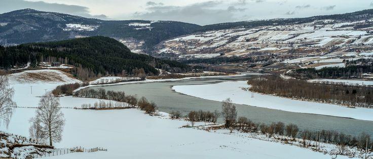 River Laugen, Gudbrandsdalen by Sigurd Rage on 500px