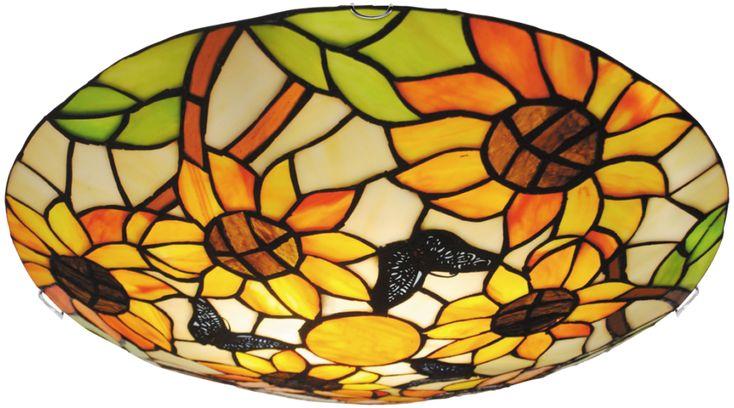 Tiffany stílusú Rábalux mennyezeti lámpa, mely szakértő