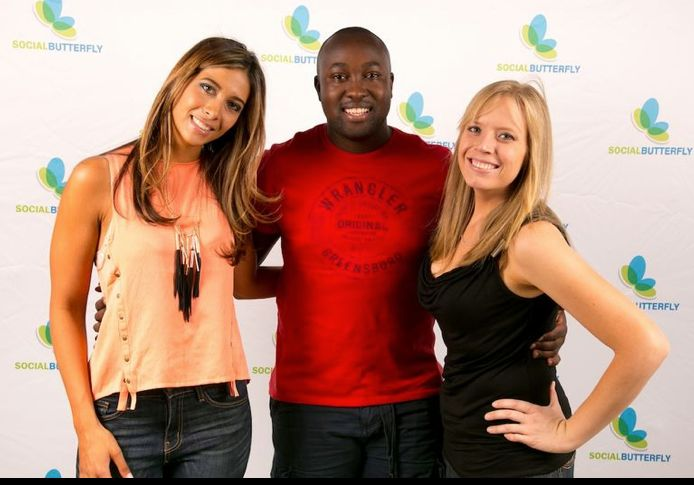 www.celebritygifting.co.za - Owner of #celebritygifting at #simbasbday event with #simba and Lauren from #socialbutterfly