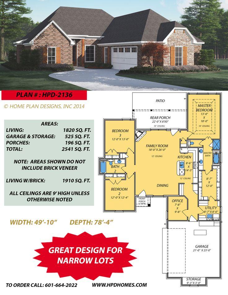 65 best home plan designs images on pinterest | dream homes, floor
