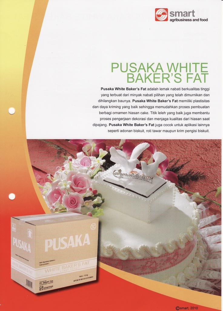 Pusaka White Baker's Fat