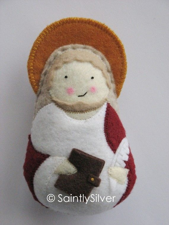 Saint John the Apostle from Etsy - for Townes' baptism