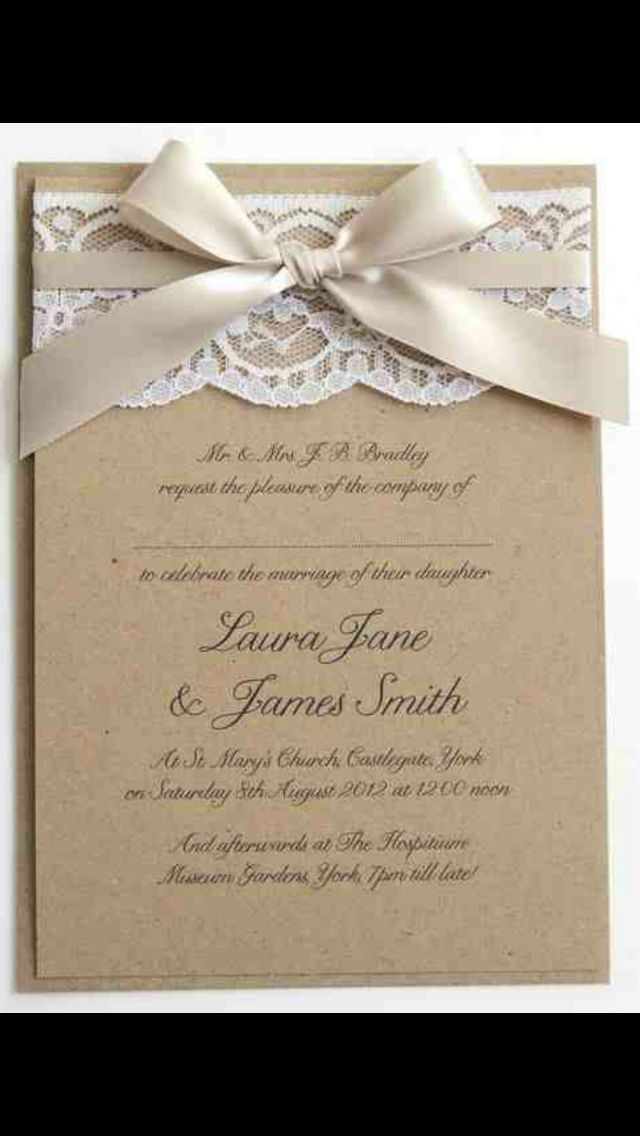 Lace invites 61 best wedding cards images