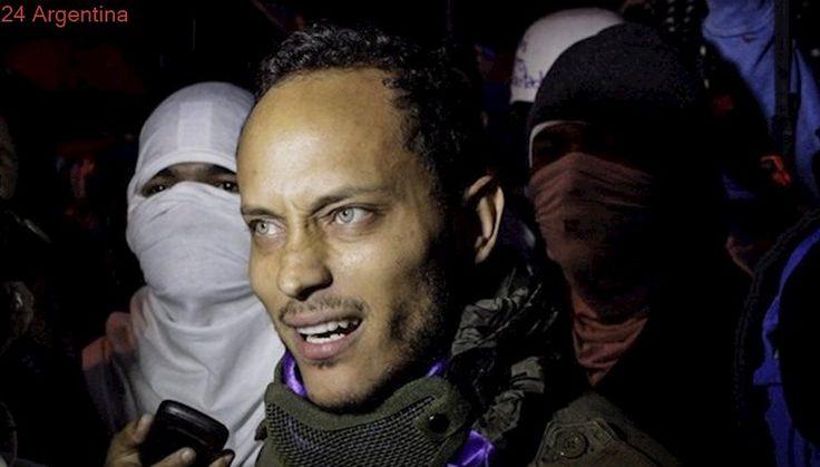 El piloto de helicóptero venezolano, buscado por terrorismo, reapareció con un nuevo mensaje